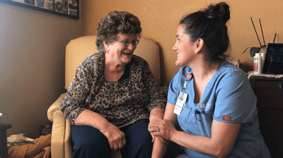 patient and CNA